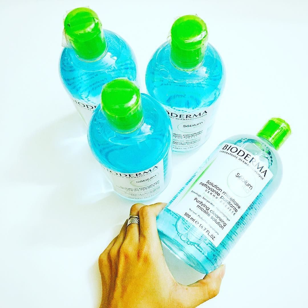 Tẩy trang Bioderma chai 500ml Giá 450k Instagram
