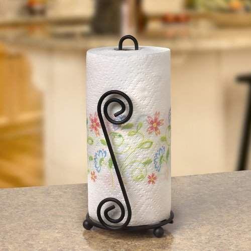 Jessica Free-Standing Paper Towel Holder #papertowelholders