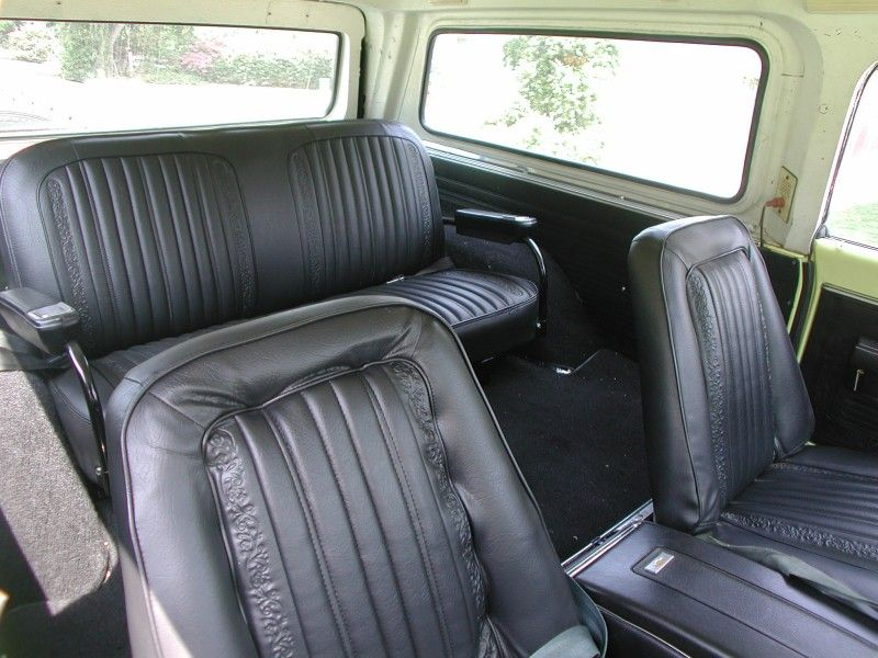 Show Me Your Seats Utility Custom Sport Etc The 1947 Present Chevrolet Gmc Truck Message Board Network K5 Blazer Chevy Blazer K5 Chevrolet Blazer
