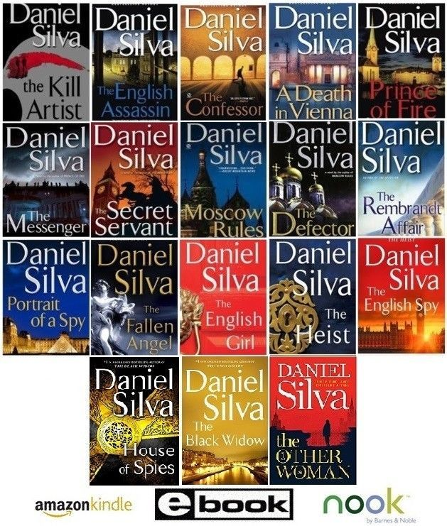 Gabriel Allon Series by Daniel Silva series Collection