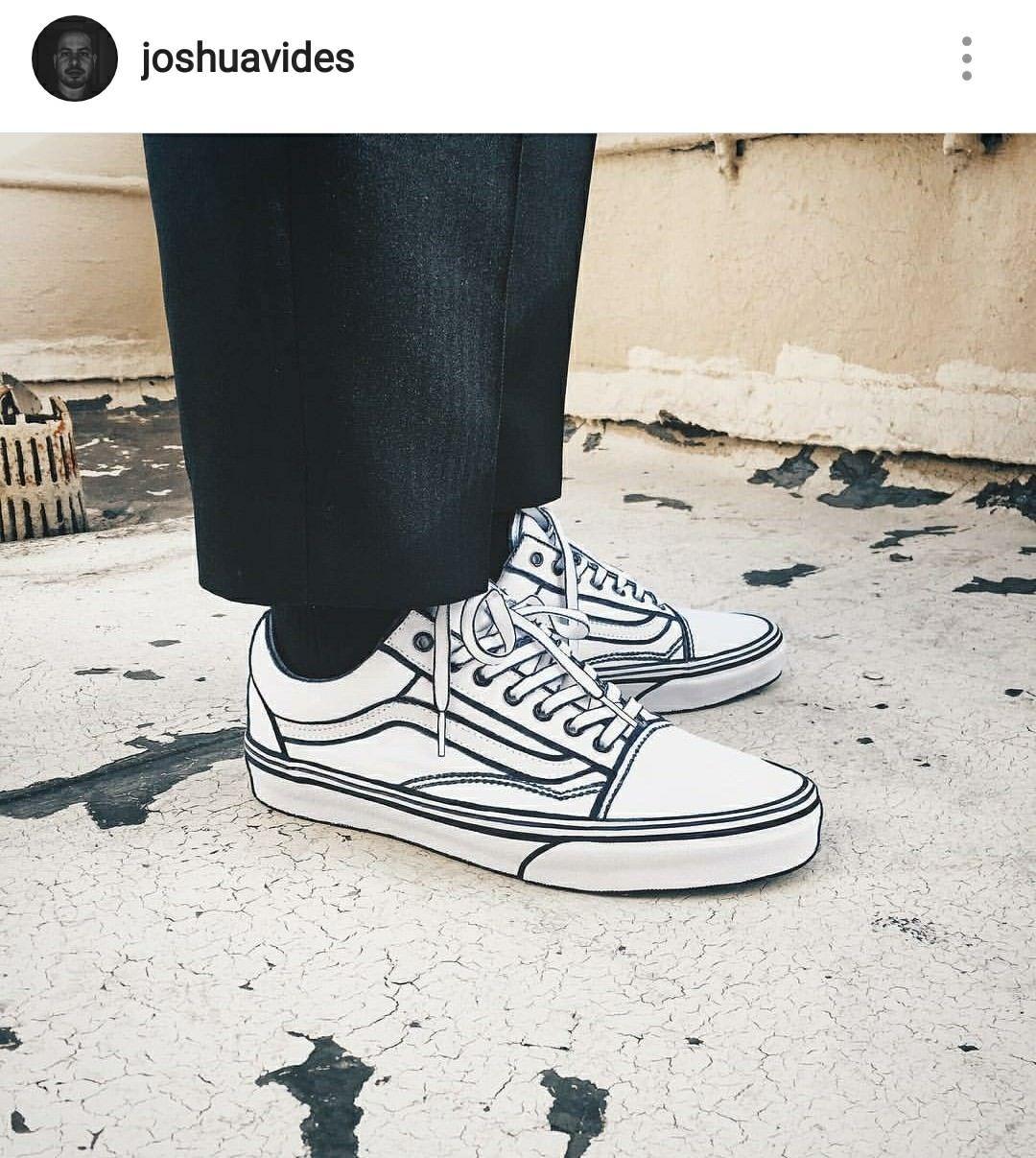 White Vans x Sharpie | Custom vans, Diy sneakers, Custom vans shoes
