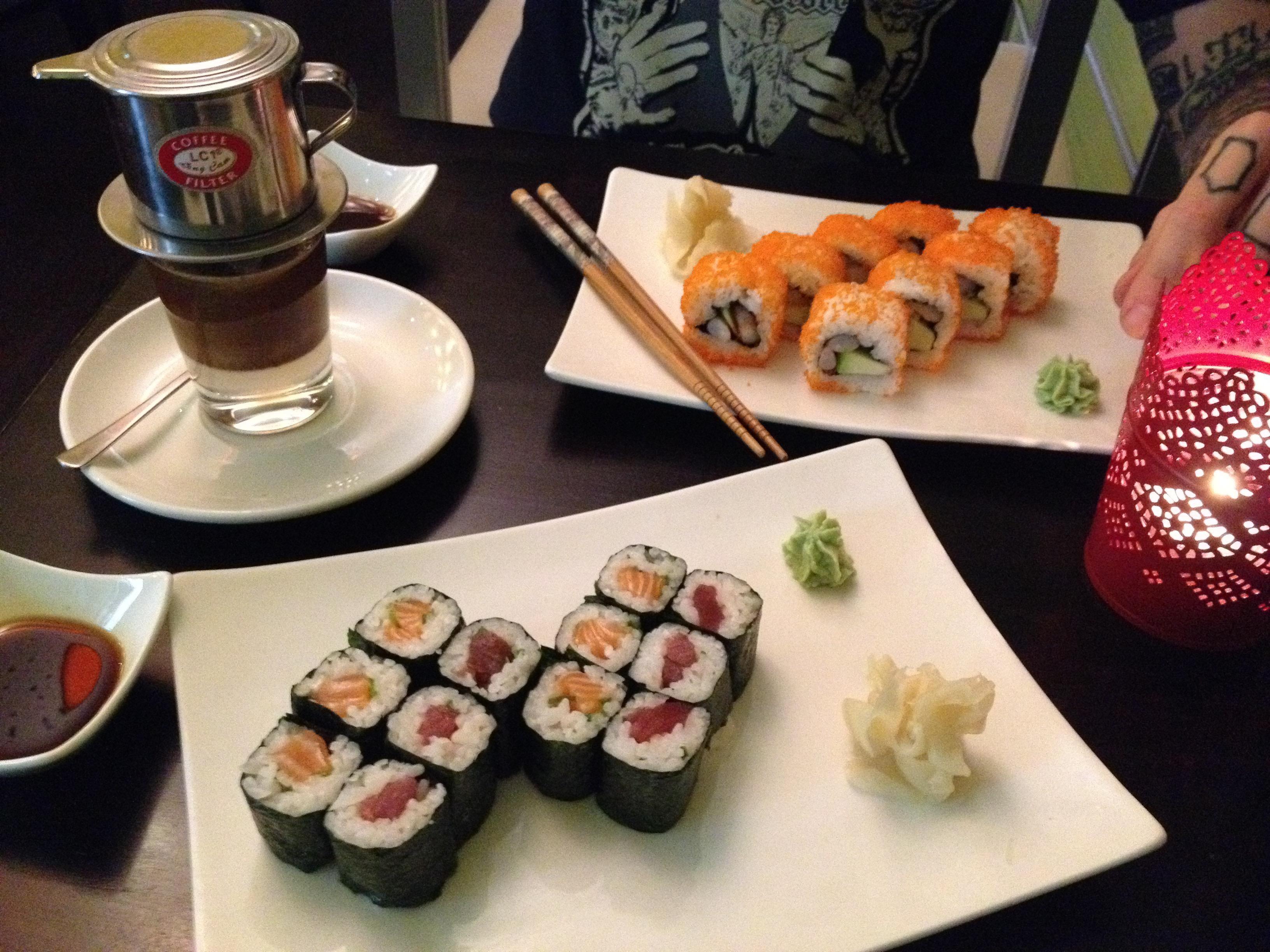 Sushi im Kamiko in Berlin. Lust Restaurants zu testen und Bewirtungskosten zurück erstatten lassen? https://www.testando.de/so-funktionierts
