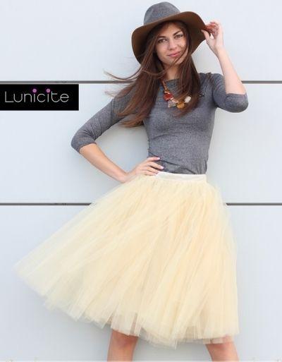 Lunicite tylová sukně Pampeliška  4354ac3437