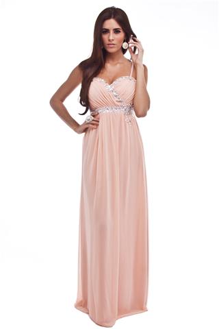 Peach maxi dresses uk