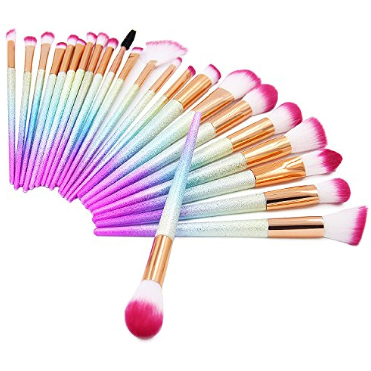 QERI Make Up Brushes 24 Pieces Professional Makeup Brush