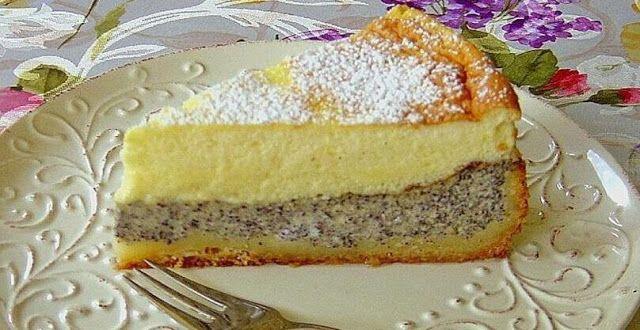 Mohnkuchen mit Schmand – Schnelle Küche