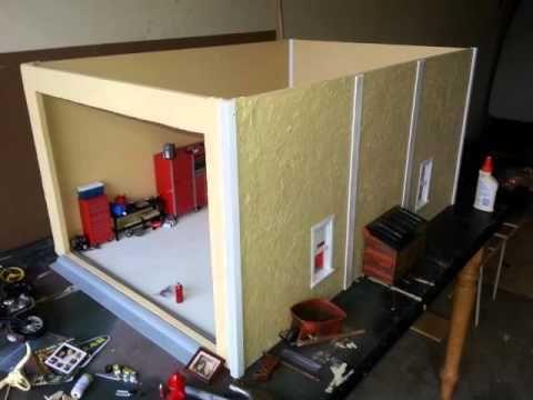 1 10 Scale Garage Diorama Alpha Male Garage 1 10 Scale Diorama Garage