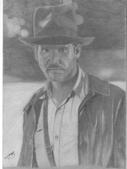 Indiana Jones - grafite