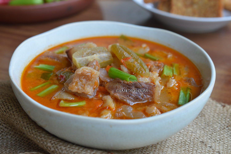 Jangan Kesrut Khas Banyuwangi Resep Masakan Masakan Resep Makanan