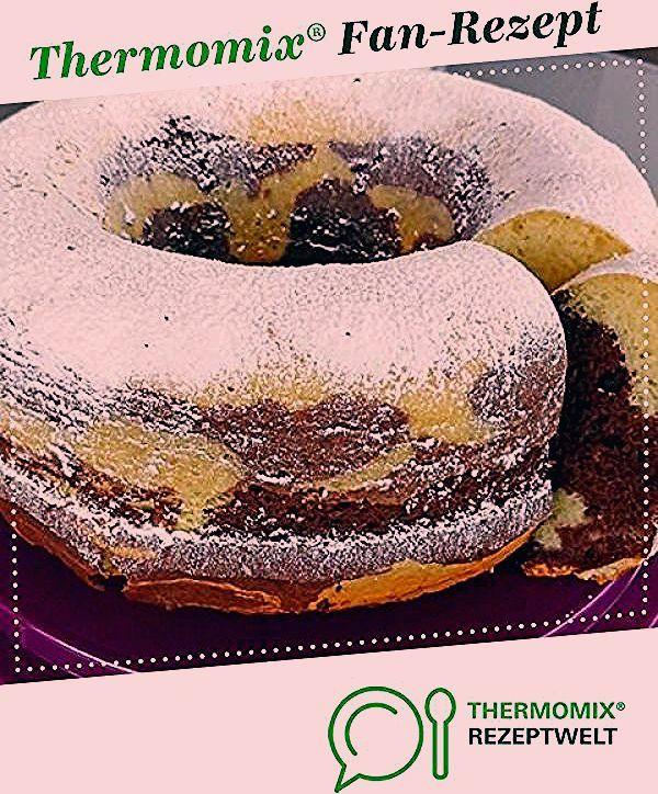 Saftiger Marmorkuchen mit Eierlikör