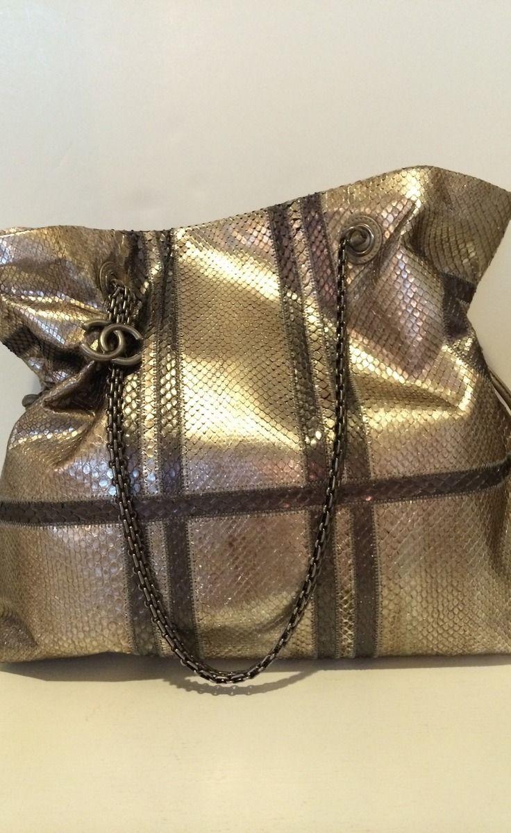 Chanel Gold Tote-BεauԵίʄuɭ ♡✤LadyLuxury✤.