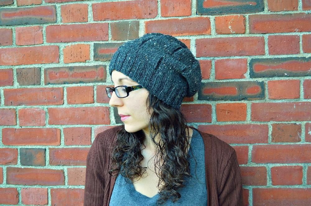 Destroyed - The Slouchy Beanie Knitting pattern by Codi ...