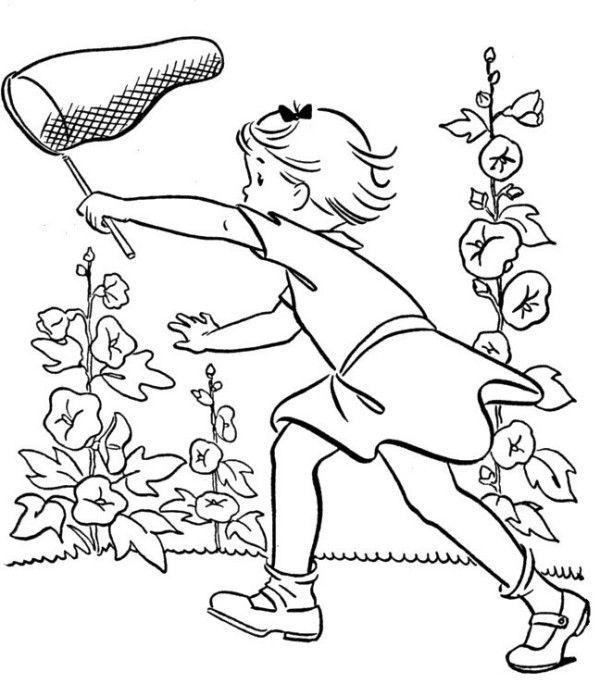 Summer Coloring Pages For Kids #1702 | Pics to Color ...