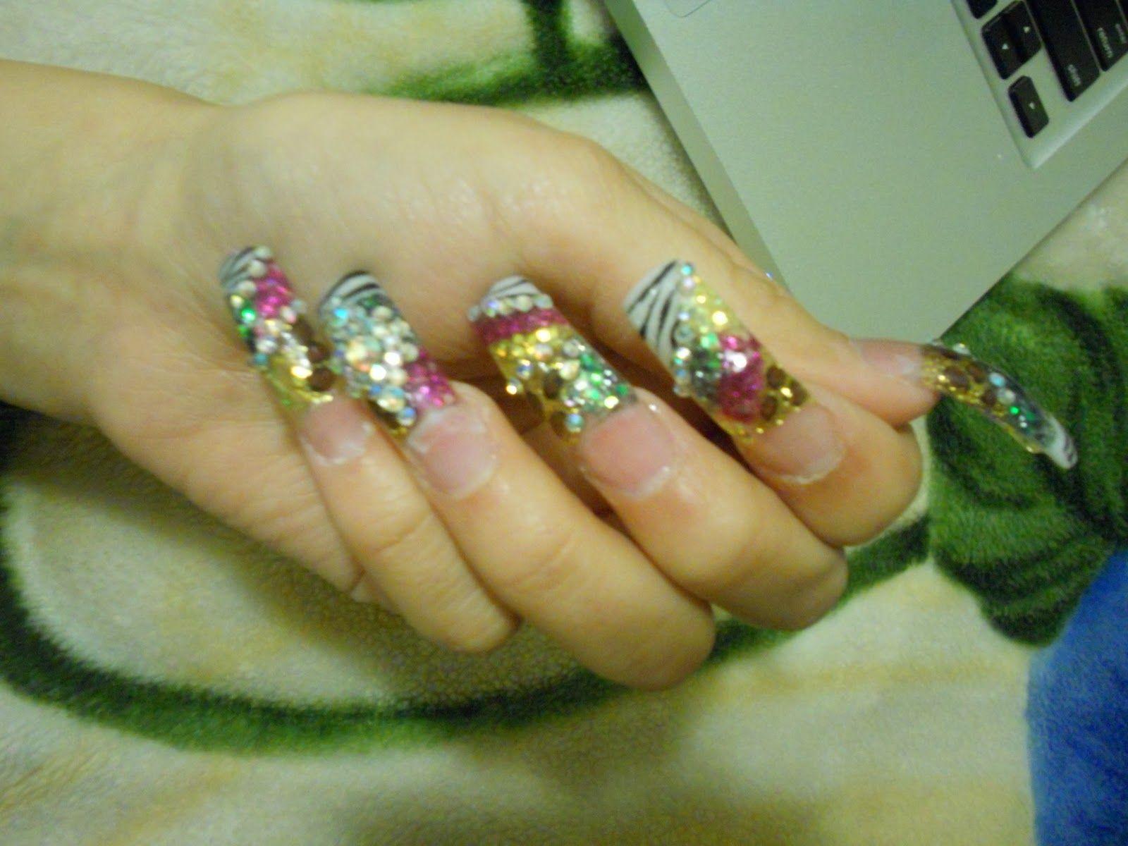 Uñas estilo sinaloa | nails, makeup & hair do\'s | Pinterest | Makeup