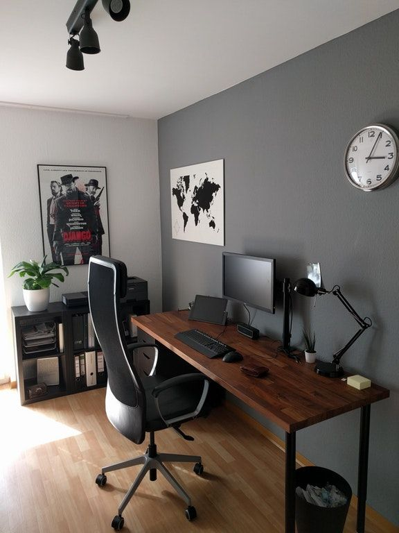 My First Home Office Malelivingspace Office Desk Designs Home