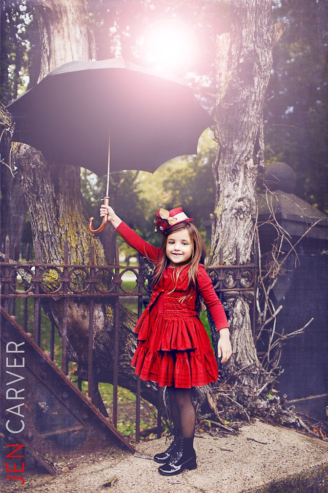 """""""mary poppins"""" child photo session"""