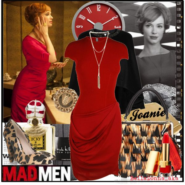 Mad Men Style Tribute : Joan, created by belladonna-aka