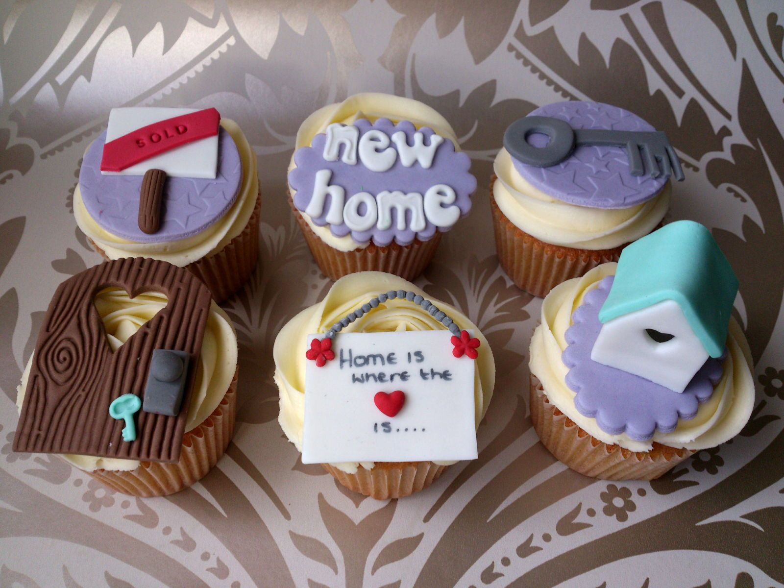 Perfect New Home Cupcakes   For All Your Cake Decorating Supplies, Please Visit  Craftcompany.co Pictures