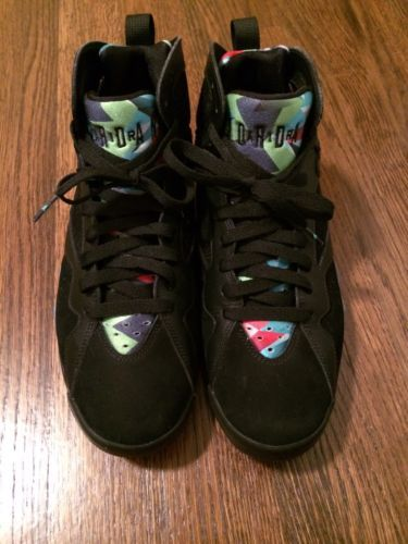 2015 Nike Air Jordan 7 Retro VII Barcelona Nights size 9.5  30th ANNIVERSRY