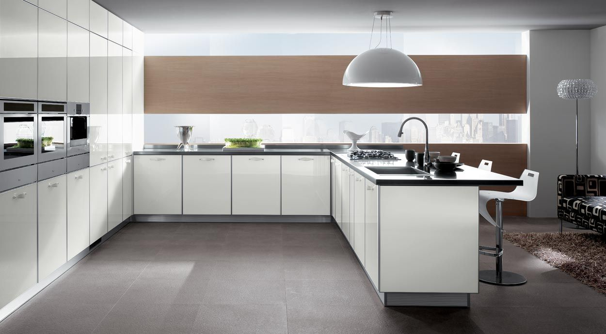 Marvelous This Is A Scavolini Kitchen, Which Would Cost Tens Of Thousands Of Dollars.  Compare