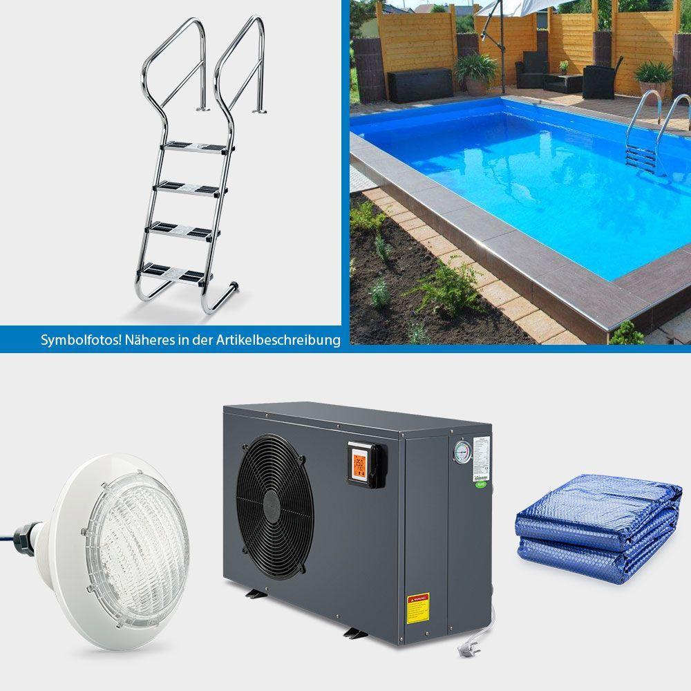 Poolsana Rechteckpool 8 00 X 4 00 X 1 50 M Promo Set Excellence And Energy Excellence 1 50 400 8 00 And Energy M Poolsan Pool Settings Excellence