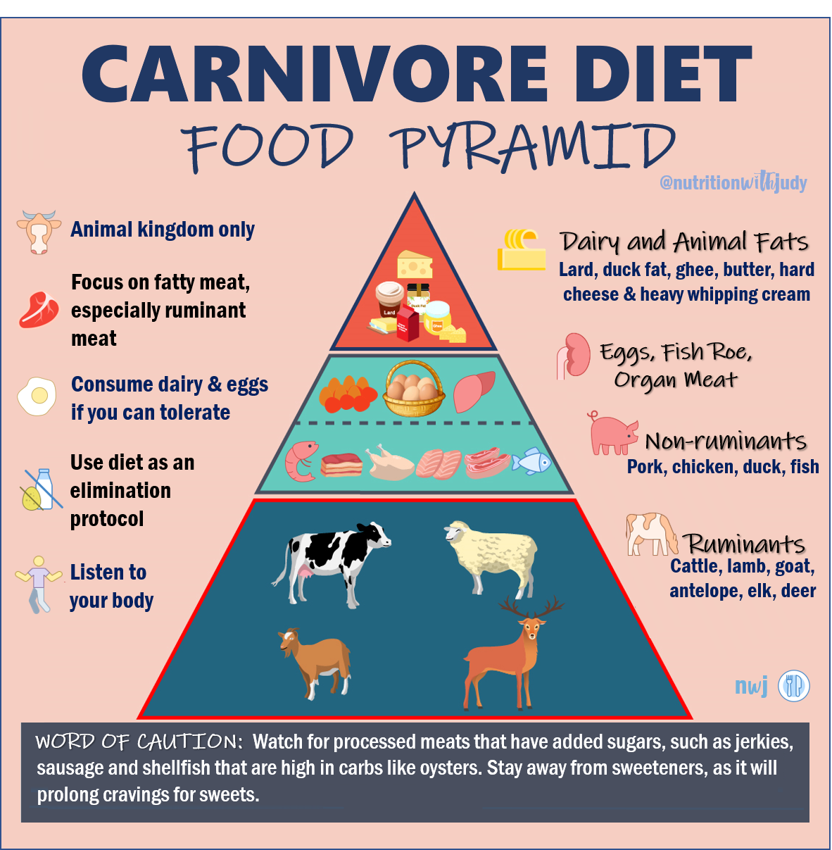 Photo of The Nutritionist's Guide to the Carnivore Diet: A Beginner's Guide – Nutrition with Judy