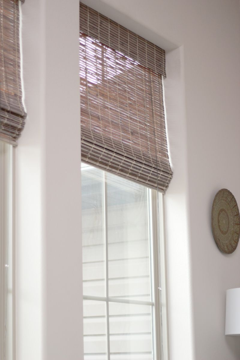 Bamboo Sliding Panel Track Blinds: 15+ Impressive Double Window Blinds Ideas In 2020