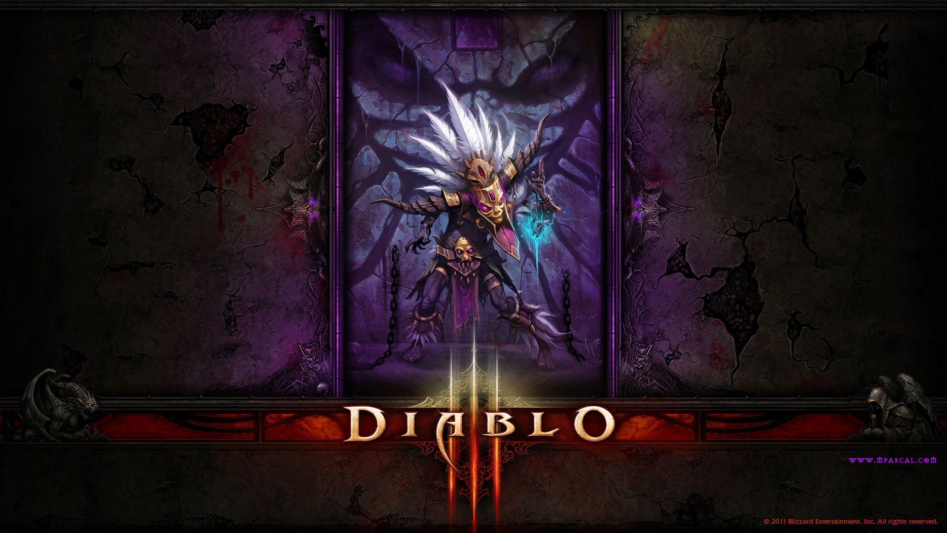 Wallpaper Diablo 3 Witch Doctor Wallpaper By Panperkin Diablo