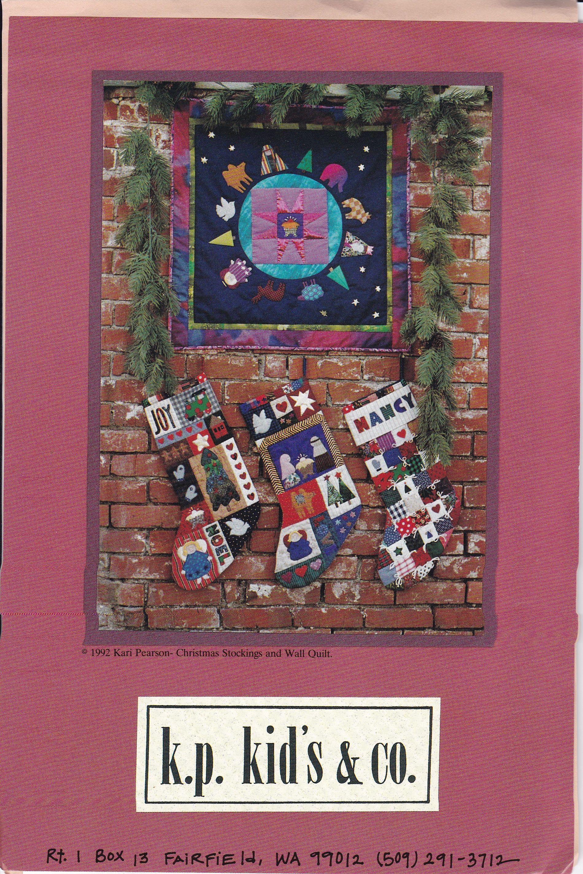 Free Us Ship Craft Sewing Pattern Christmas Kp Kids &