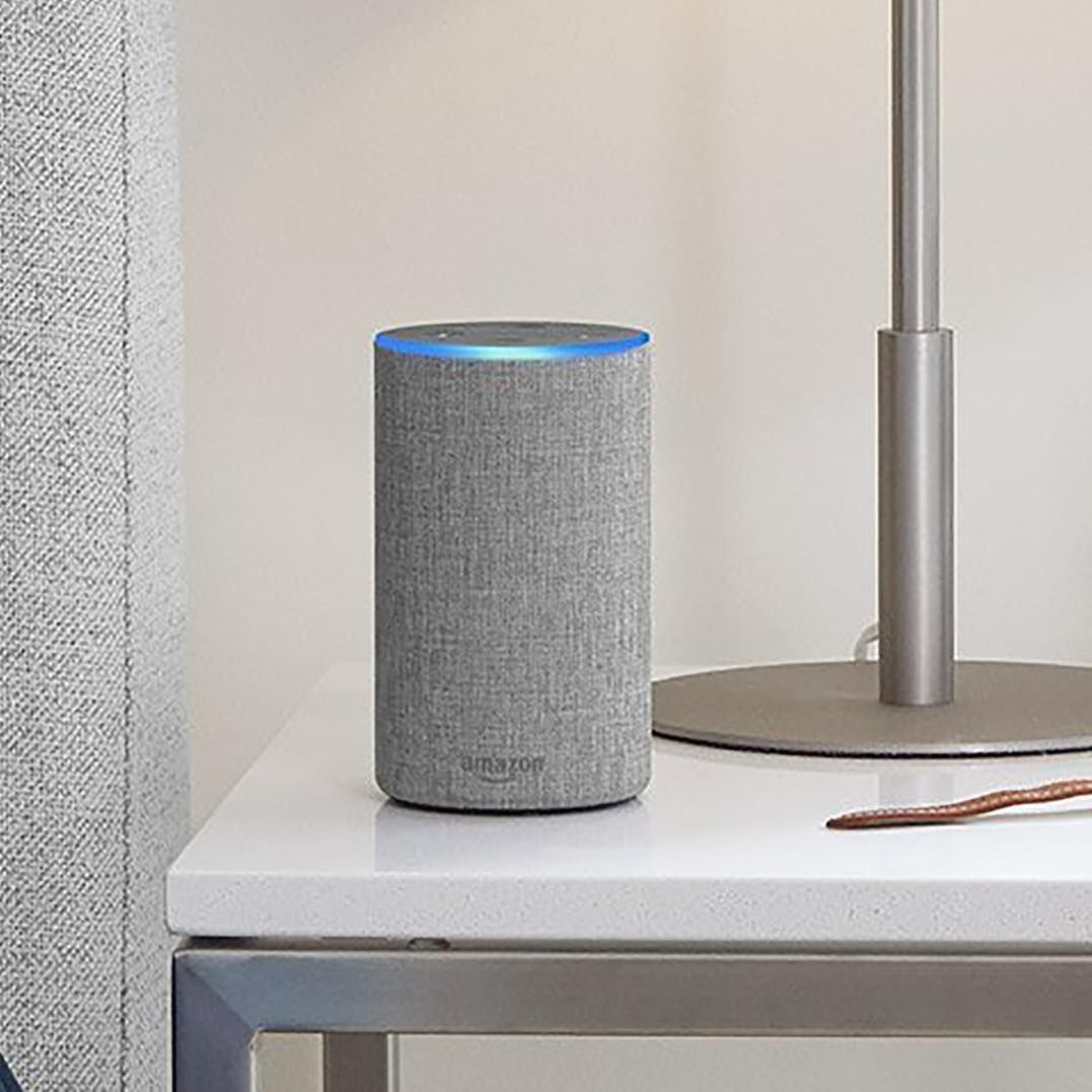 Make your home smart with Amazon Echo 2nd Gen in Silver Finish. A ...