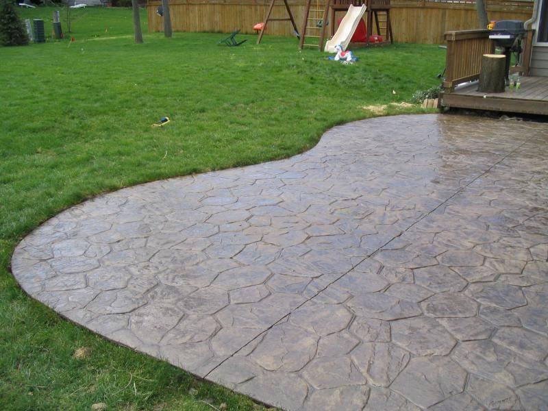 stamped concrete - field stone http://www.northernconcreteinc.com ... - Stamped Concrete Ideas Patios
