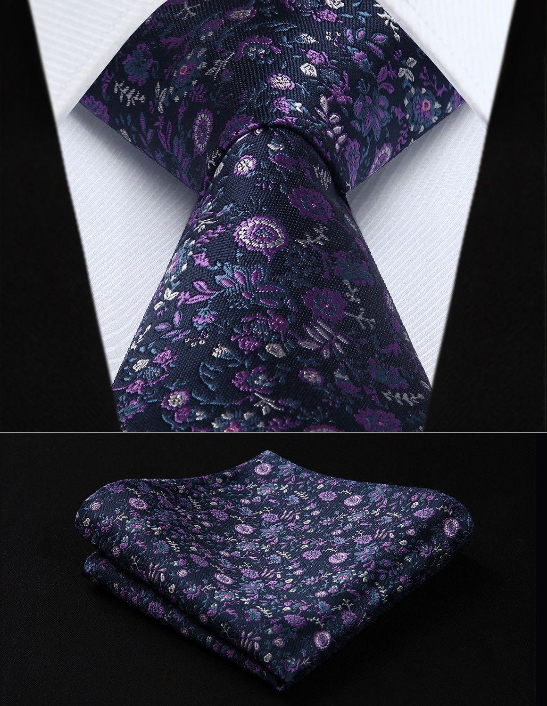 Lilac Moon Tie And Handkerchief Purple Groomsmen Mens Wedding Attire Ties Mens
