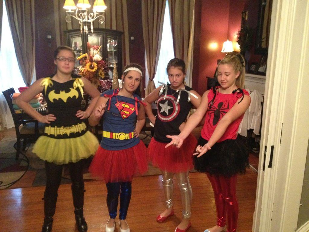 Homecoming week, duo day superheroes : captain America, spiderman ...