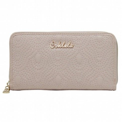 7f55827c5e91 ... La La Bags | Oohlala Handbags | Oohlala Designer Handbags | Oohlala  Accessories | Oohlala Jewellery - OW-0033 GIGI EMBROIDERED ZIP AROUND  MEDIUM WALLET