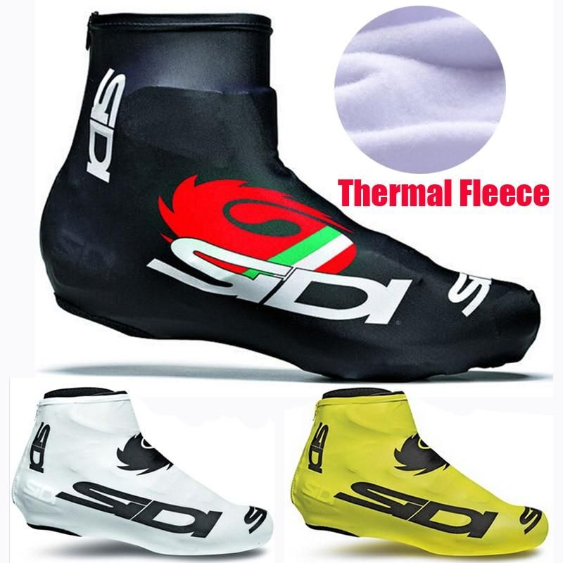 Thermal Cycling Shoe Cover Winter Road Race MTB Over Bike Shoes Covers