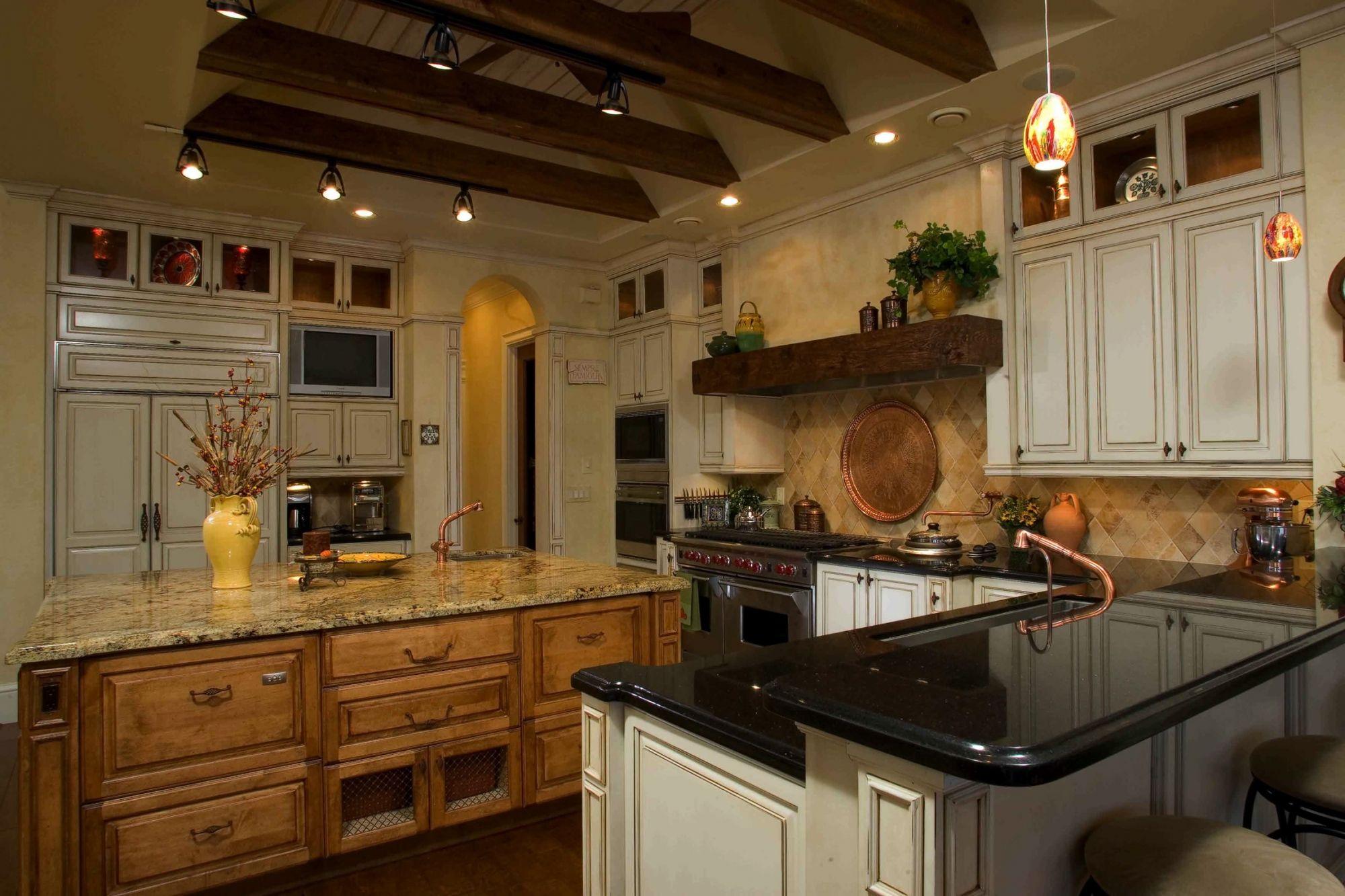 Tuscany Farmhouse Kitchen