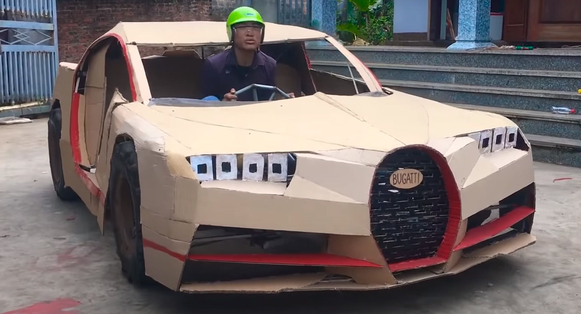 These Guys Build $100 Driveable And Pedalable Supercars Out Of Cardboard | Carscoops