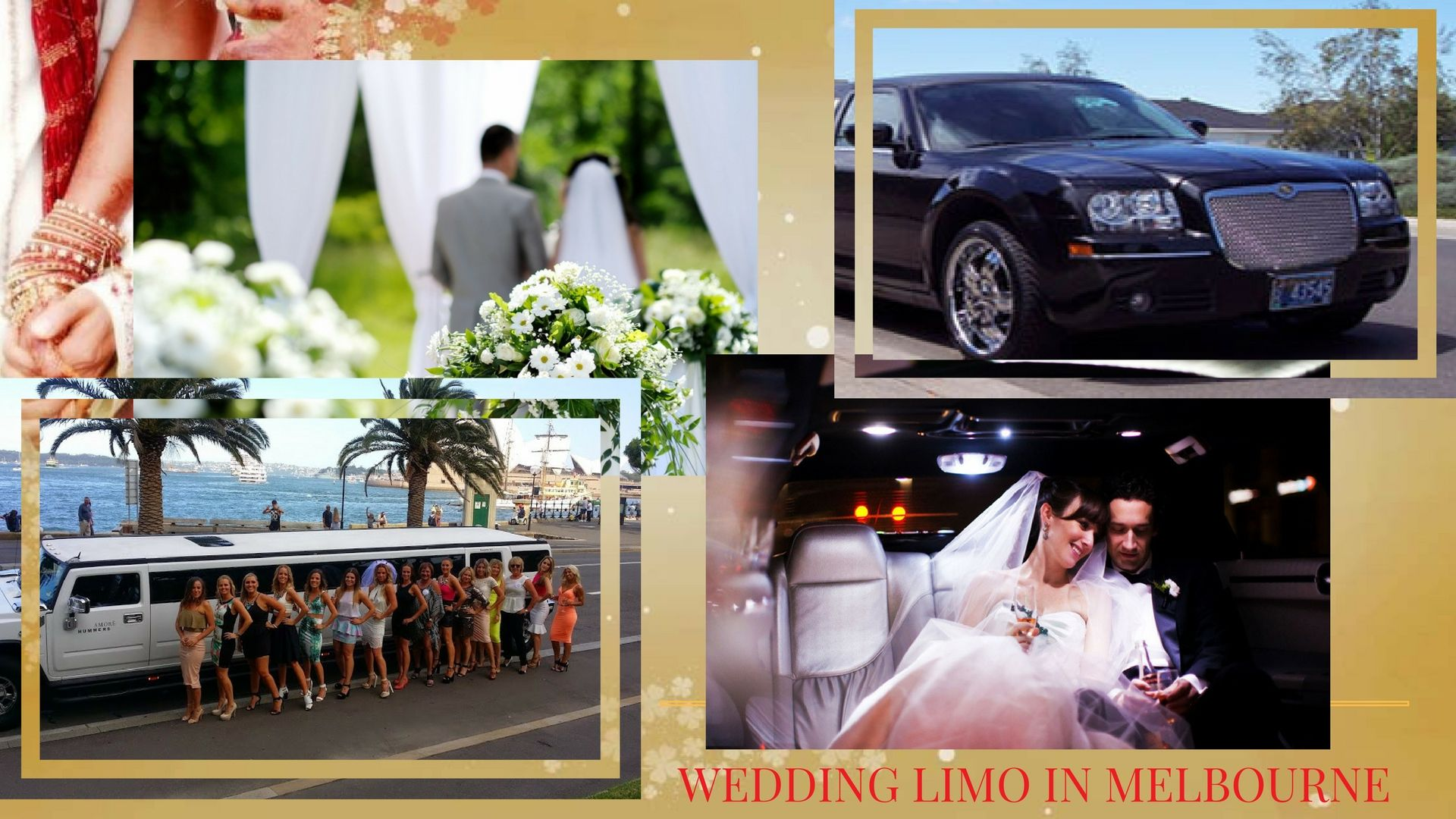 Making a Great Splash with a Wedding Limo in Melbourne...Partners mentioned in this article: Golden Gate Limousines/ A. Atlantis Executive Limos/ Oakcorp Extreme Super Stretches