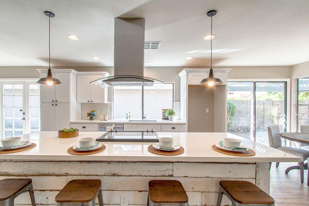 Best Blissful Abode Interiors Reclaimed Wood Kitchen Island 400 x 300
