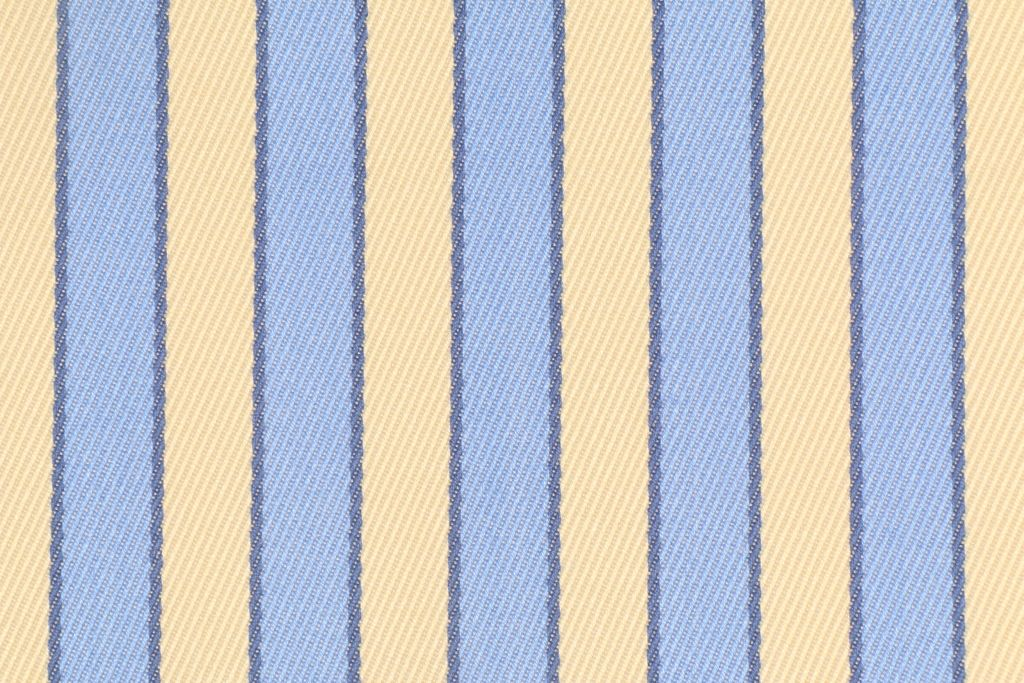 2 38 Yards Robert Allen Nautica Deck Chair Stripe Italian Woven Acrylic Outdoor Fabric In Day