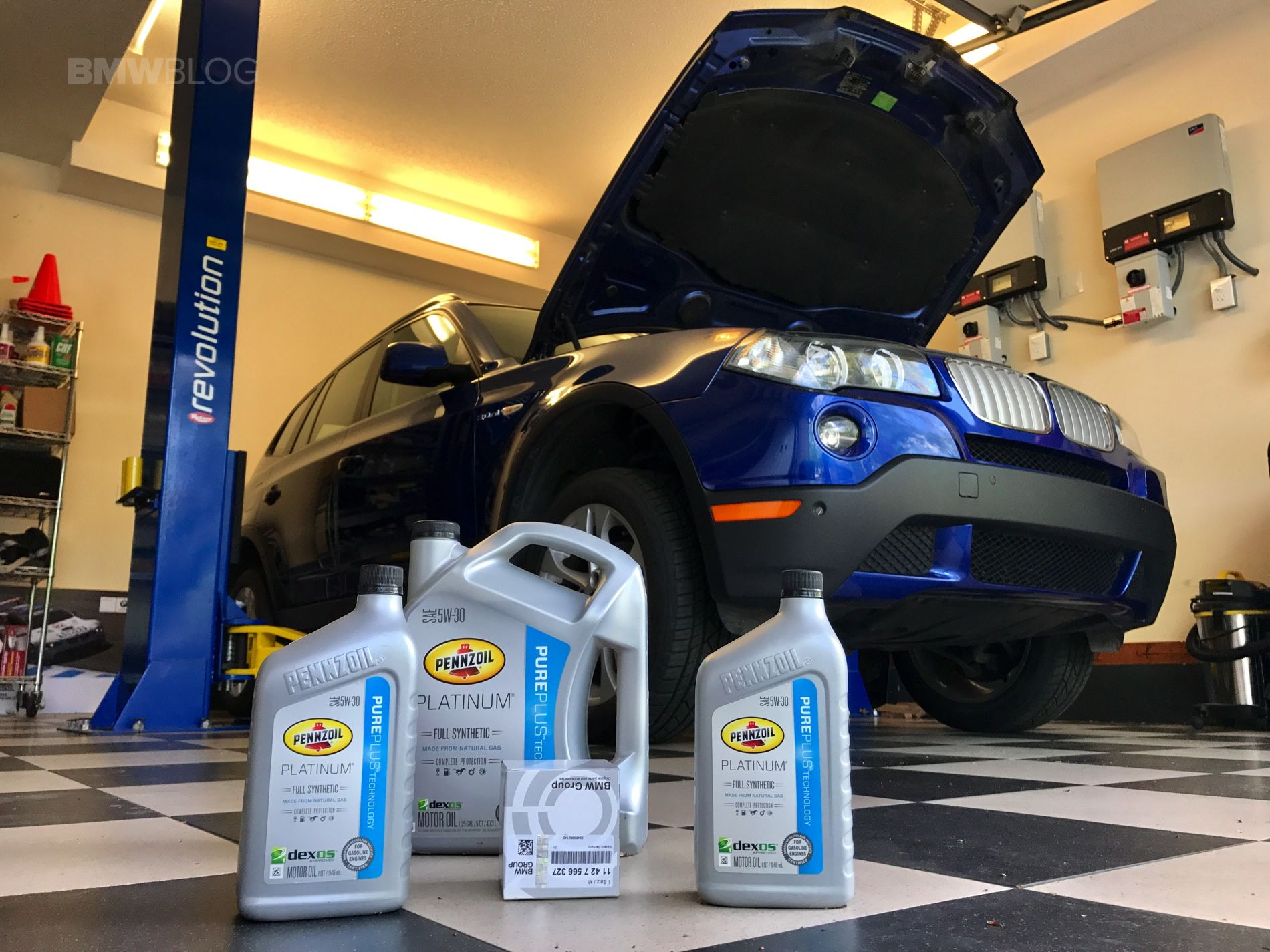 how edge to your tws bmw in oil change the castrol