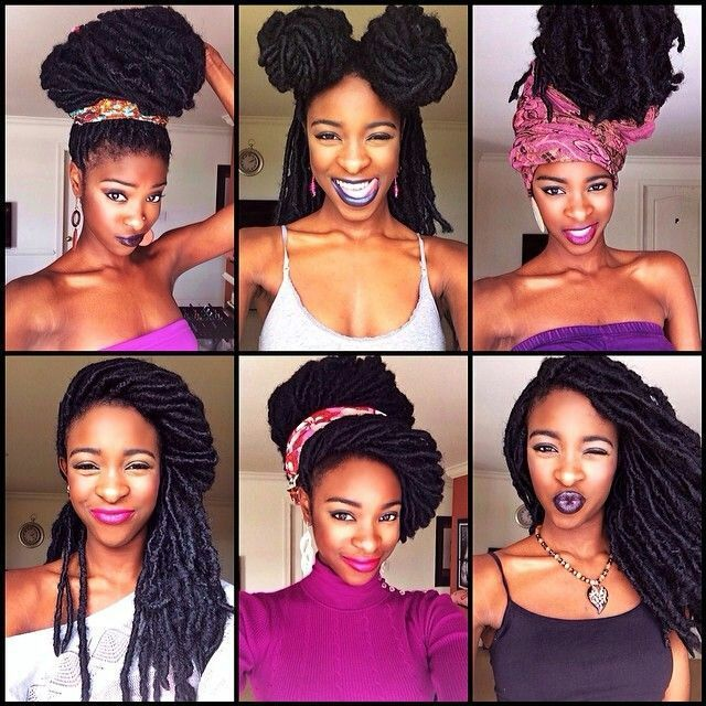 Wondrous 1000 Images About Braids Dreads Twist On Pinterest Protective Short Hairstyles For Black Women Fulllsitofus
