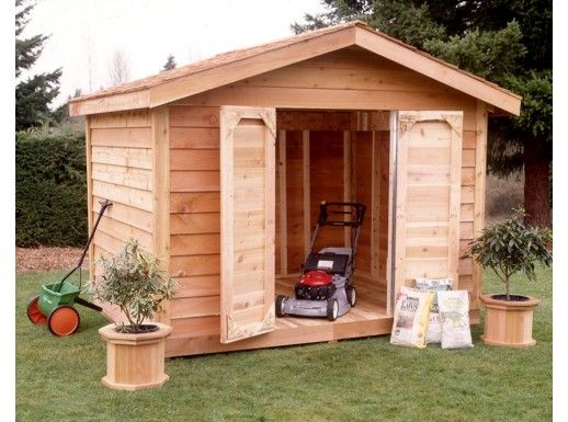 Star Lumber 10x8 Shed Kit Cedar Bevel Siding Ys108s On Sale Cedar Shed Shed Kits Build A Shed Kit