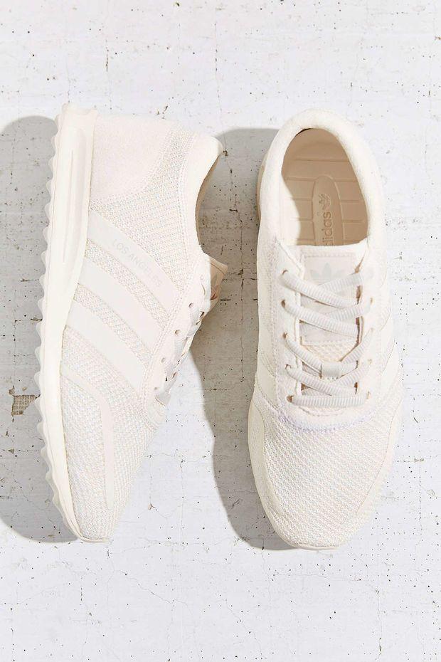 adidas originali los angeles white in scarpe da ginnastica urbano