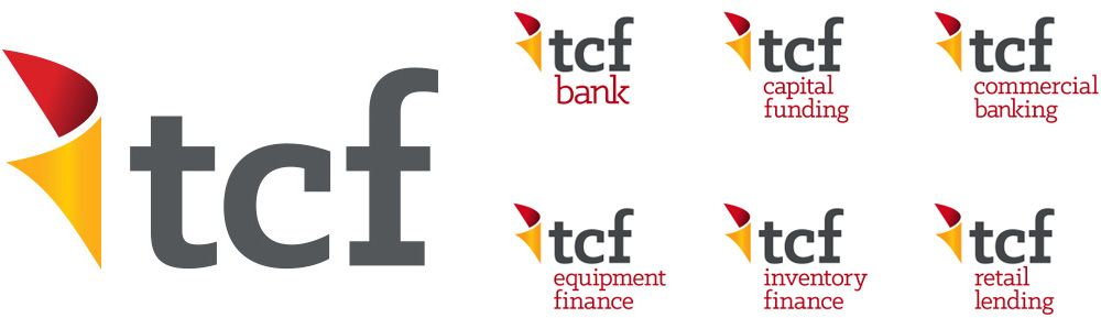 Brand New New Logo And Identity For Tcf Bank By Periscope Identity Logo Banks Logo Logos