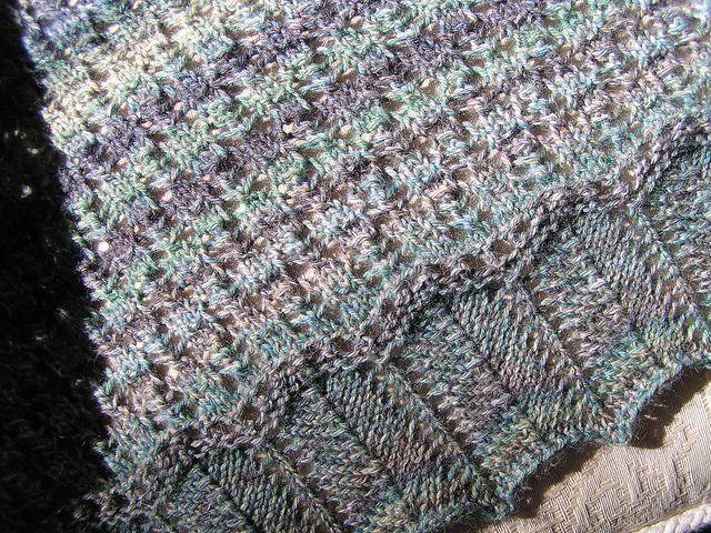 Calais shawl free pattern