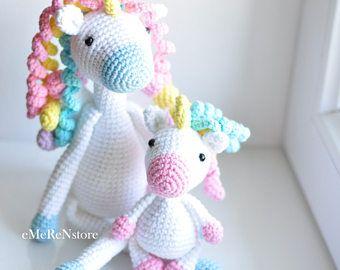 Amigurumi Unicornio Tutorial : Cojín unicornio tejido a crochet paso a paso youtube amigurumi