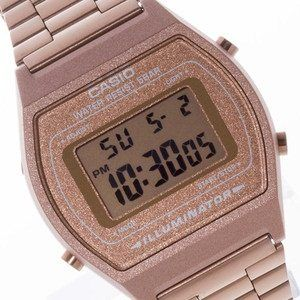 fdcbca7895e6 CASIO Vintage Retro Digital OLD SKOOL CLASSIC Rose Gold B640WC-5A B640WC  Watch