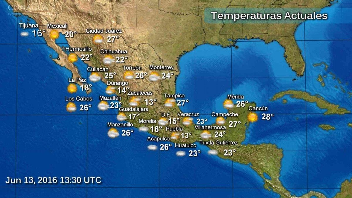 <p>Chihuahua, Chih.- Un canal de baja presión se extenderá desde el norte hasta el centro de México y en combinación con la entrada