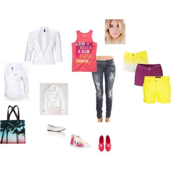 """Beach, Sun & Oshkosh"" by bianca-roberts on Polyvore"